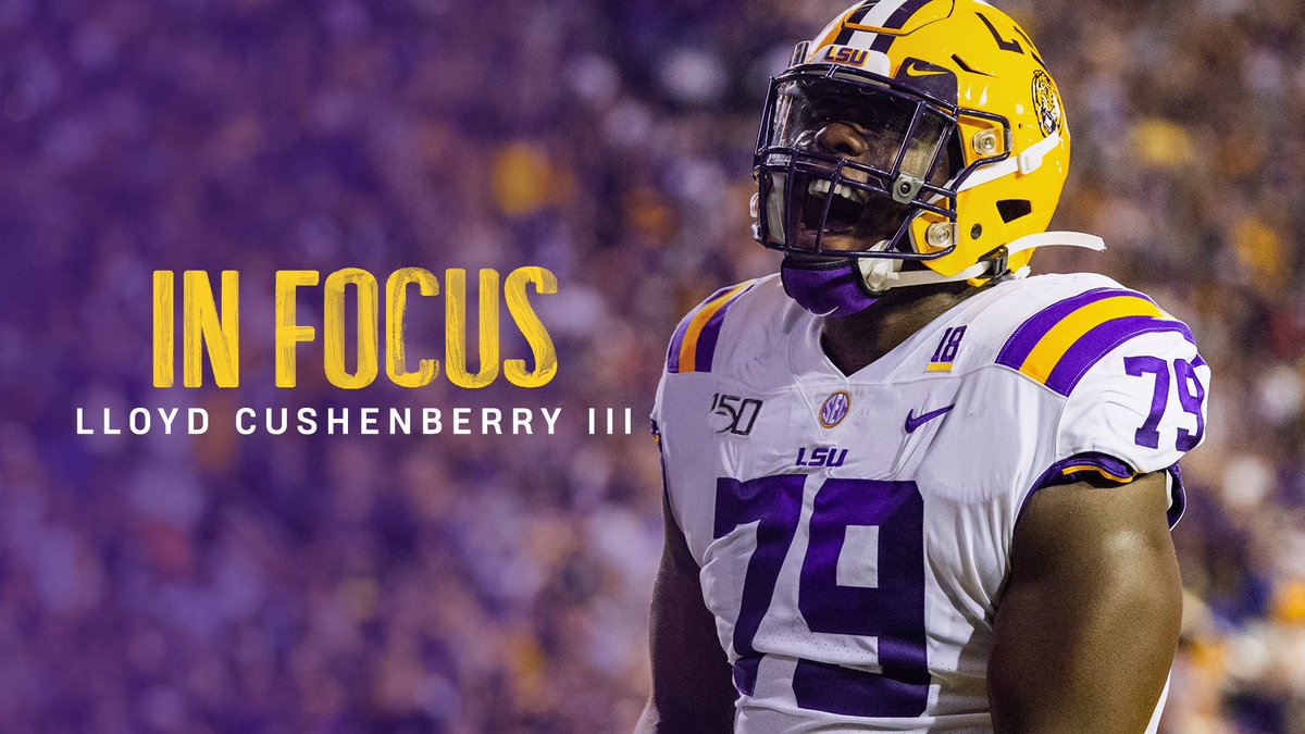 Lsu Football On Twitter There S Two Sides To Lcush79 The Leader Of Lsu S Offensive Line Https T Co B6fhdi5fyj
