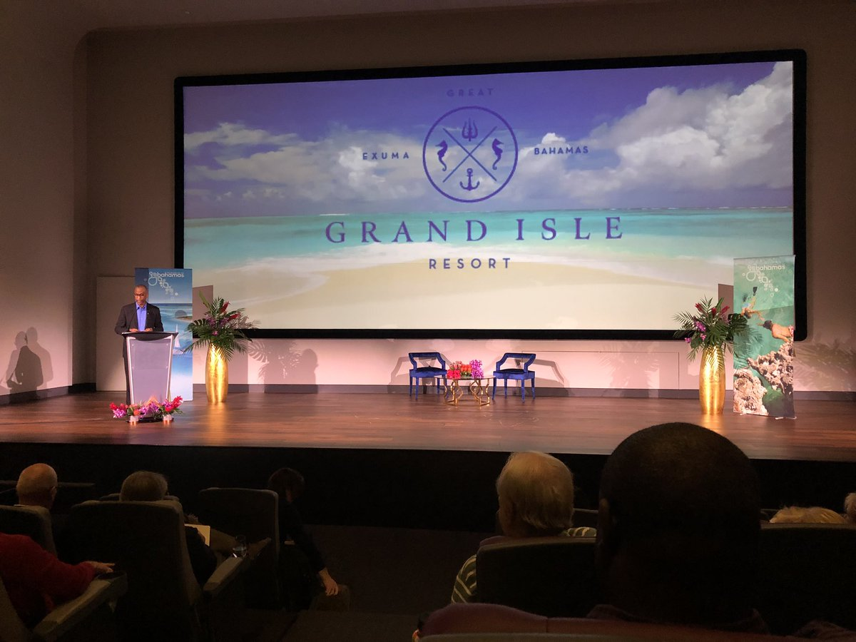 @Bahamas1 concluded it's Canada-wide tour today in Toronto, telling the country (and the world) The Bahamas is open for business! Only Abaco and Grand Bahama we're impacted by #Dorian. Best way to help is to visit! @GrandIsleResort #HurricaneDorain #Exuma #flyaway https://t.co/ycmEjPrG8Z