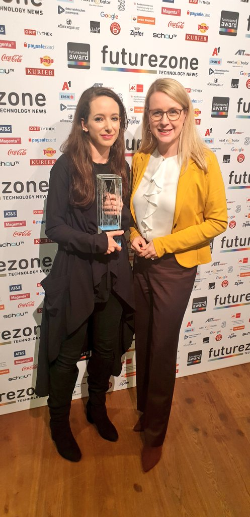 "Johanna Pirker 🎮 on Twitter: ""I received the #futurezone Women in ..."