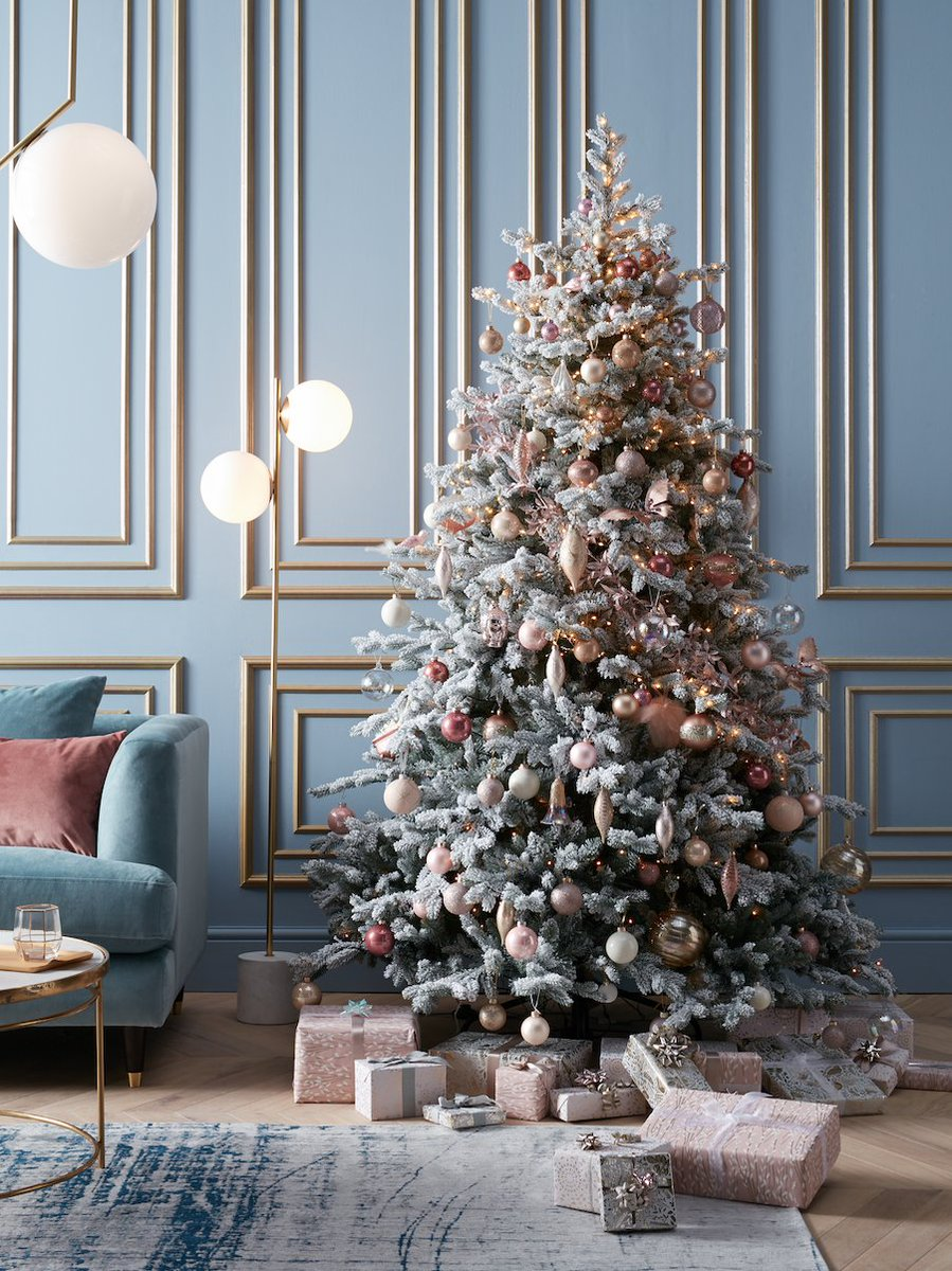 John Lewis Partners On Twitter For A Serene Christmas Tree Theme That Feels Quietly Luxe Decorate With Delicate Blush Rose Gold Shimmering Metallics And Touches Of Champagne Https T Co Lhtdciyp0b Https T Co Vg7l2hm0wz