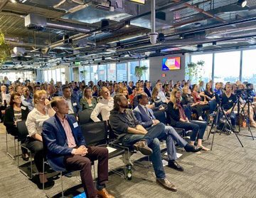 Fantastic turnout for our @theRE100 event at @Atlassian in Sydney last night. Big thank you to @mcannonbrookes, @Unilever @IKEA @NAB for taking part and showing true corporate leadership on renewables. And huge thank you to @JonDeeOz for bringing #RE100 to Oz