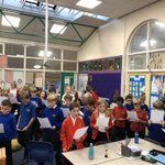 Image for the Tweet beginning: Another lovely school visit preparing
