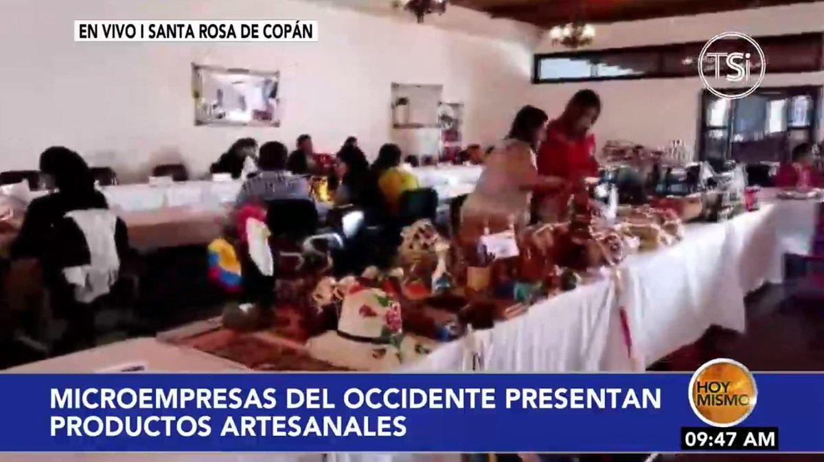 [𝗘𝗡 𝗩𝗜𝗩𝗢] 🔴 |En #HoyMismo #PrimeraEdición, microempresarios del occidente del país presentan esta mañana sus productos artesanales.