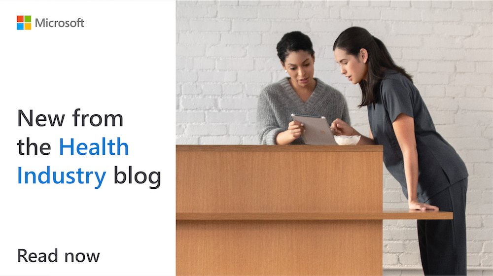 #AI, machine learning, and online collaboration tools can vastly improve the #healthcare experience. Get insights from the NextGen Health podcast series: http://msft.it/6011TpOH7