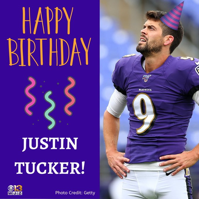 Happy Birthday, Justin Tucker!