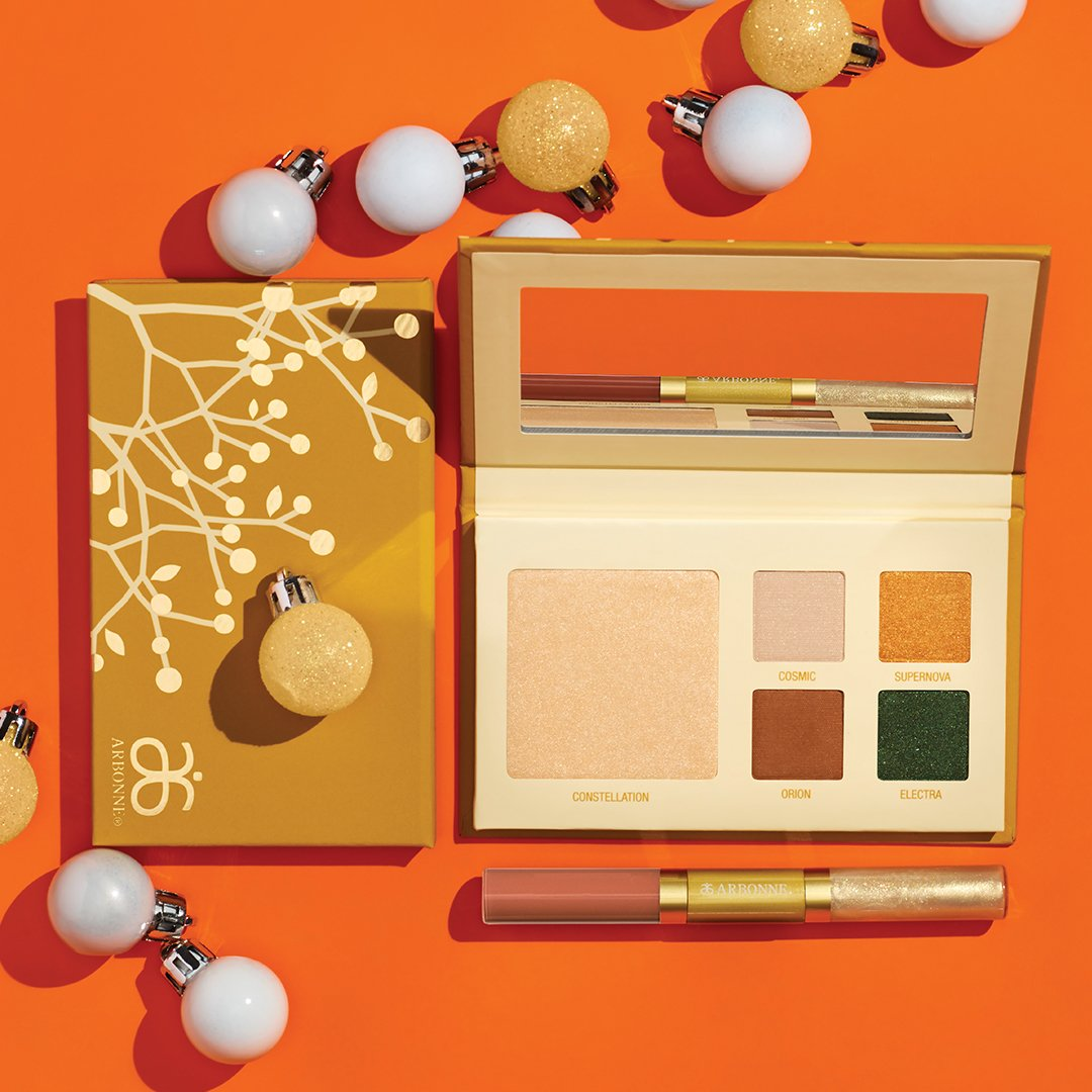 Arbonne On Twitter Have You Gotten The Comet Beauty Gift Set Yet This Portable Palette Comes With A Gorgeous Gold Highlight And Four Shadows That Give You An Alluring Look For Your
