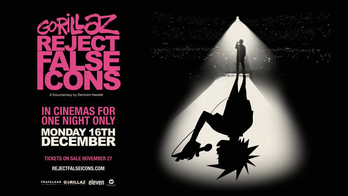 REJECT FALSE ICONSA documentary film by Denholm Hewlett.In cinemas for one night only, on Monday 16th December.Tickets on sale 27th November.http://REJECTFALSEICONS.COM#REJECTFALSEICONS