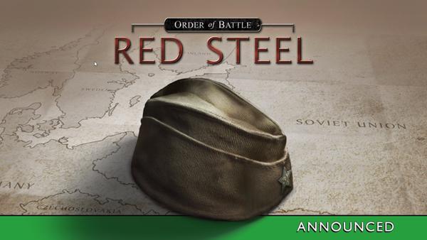 Order of Battle Red Steel - Anunciado
