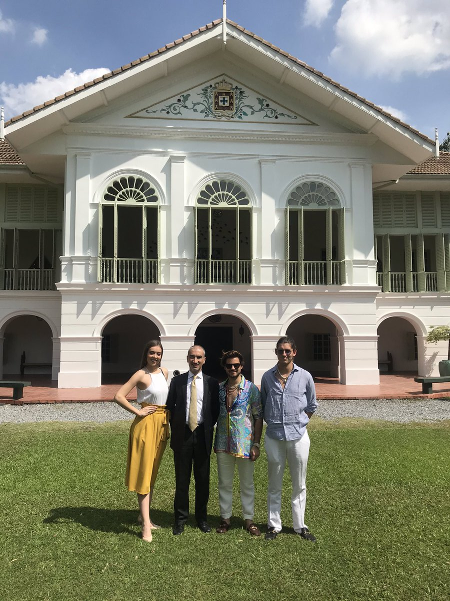 Embassy Of Portugal On Twitter It Was Great To Receive Today At The Embassy The Portuguese Designer Goncalopeixoto And Miss Universe Portugal Filipabarroso That Are In Bangkok To Participate In The 9th