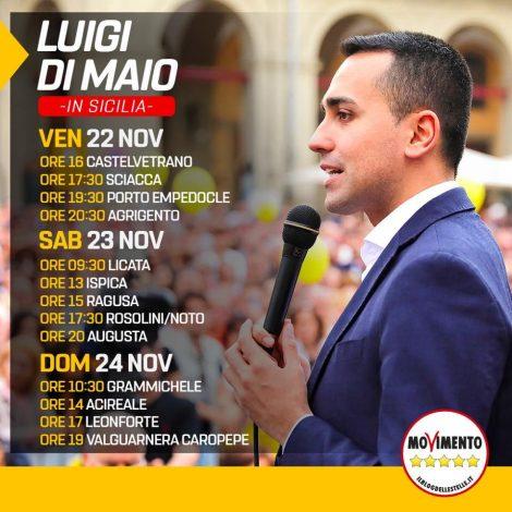 Weekend in Sicilia Luigi Di Maio, Di Maio in visita nelle città colpite dal - https://t.co/HtO8wJ1giD #blogsicilianotizie