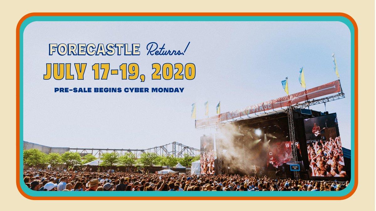 Forecastle Festival 2020.Forecastle Festival S Tweet Forecastle Returns To