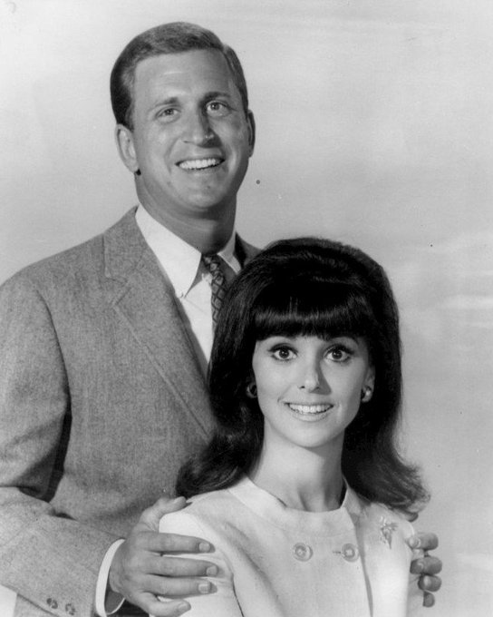 Happy Birthday to Photo of Ted Bessell and Marlo Thomas from the television program That Girl.