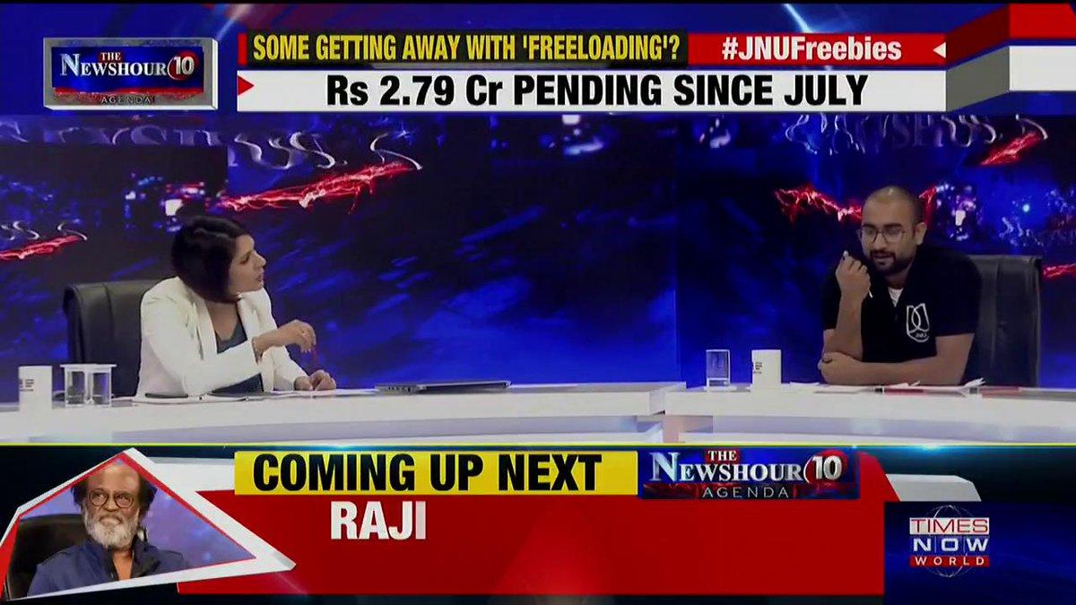 We are the 'critics' of this society: Sunny Dhiman, JNU Student Leader tells Padmaja Joshi on @thenewshour AGENDA. | #JNUFreebies