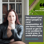 Image for the Tweet beginning: Today is National Rural Health
