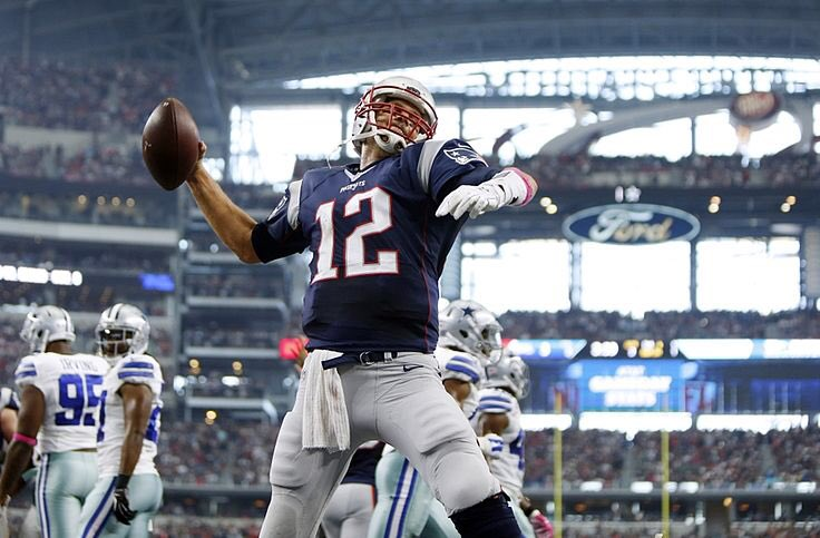 Tom Brady has never lost to the Cowboys  #GoPats <br>http://pic.twitter.com/xK1QmafMRE