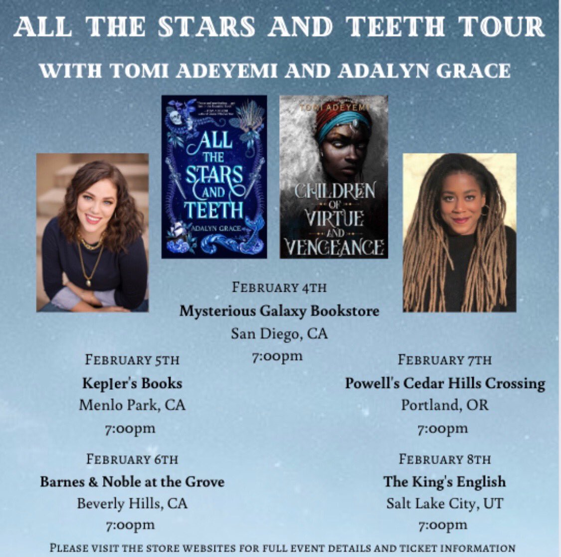 CALIFORNIA 👏🏿  PORTLAND 👏🏿  SALT LAKE CITY 👏🏿   @AdalynGrace_ AND I ARE COMING TO YOU!!!!   LINK: http://bit.ly/2KFHcEC  ME GUSHING ABOUT HOW EXCITED I AM ⬇️