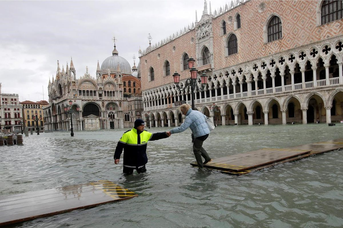 Without better flood protection, Venice risks losing status as a World Heritage Site