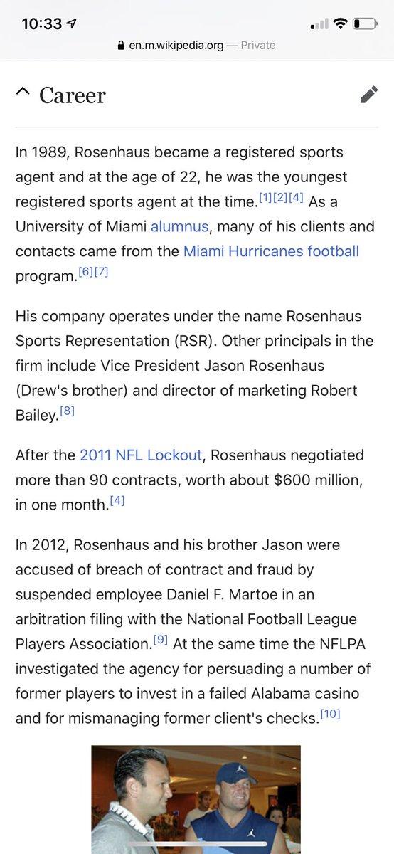 Bro I think his source is AB's agent Drew Rosenhaus.