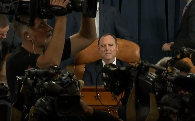 Watch Live: Adam Schiff's #Impeachment Circus – Day 4 – 11/20/2019  As the country is drug into yet another day of hearings, testimony in the first three days of the ...  #adamschiff #gordonsondland #ukrainegate