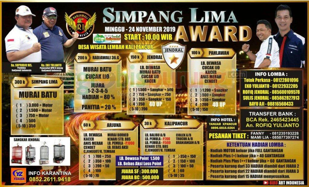 Data Sementara Pemesan tiket gelaran Simpang Lima Award Di Semarang, Minggu 24November https://t.co/bd2npR1gdi https://t.co/6YtTopFme9
