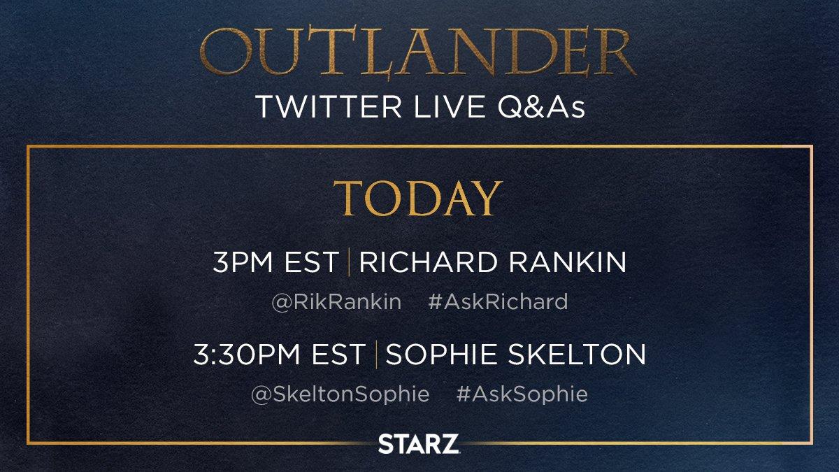 @Outlander_STARZ's photo on #AskRichard
