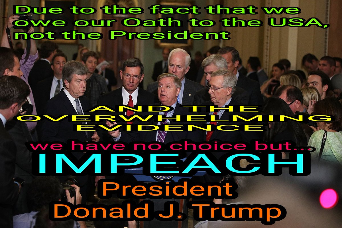@essenviews BUT.... SOON; America Will Be Great Again ... #DemocraticDebate #impeachment #ThursdayMorning #Trump2020 #TrumpBribed #TrumpRussia #TrumpBribery #TrumpBribed #TrumpImpeachmentHearings  #MAGA  #impeachment