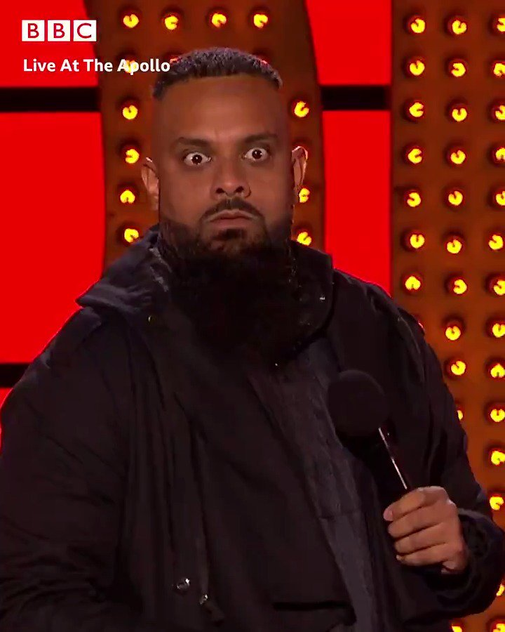 Think your parents don't have favourites? @GuzKhanOfficial has some home truths for you. 🙈 #LiveAtTheApollo