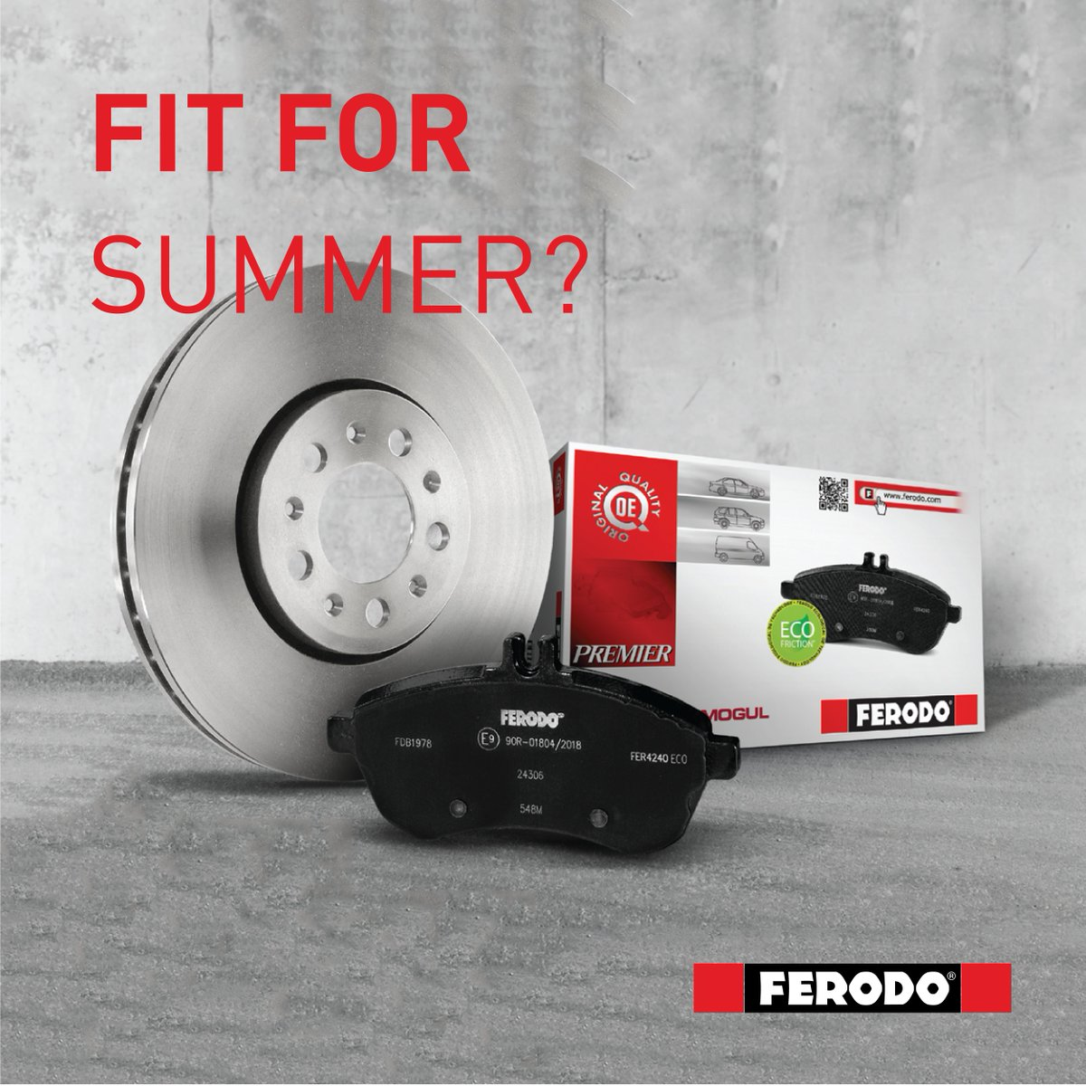 Are your discs and pads fit for summer? Upgrade your brake pads and discs to Ferodo and experience the power of performance. Find yours here: https://t.co/GbqAvzbqSB https://t.co/gg8AlzTUPF