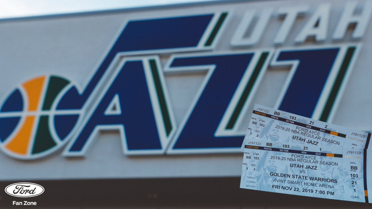 Win a pair of 🎟🎟 for tomorrow's game against the  @warriors‼️  All you need to do: - Retweet this post.  - Comment and tell us who you'd take with you.   We will notify the winner directly tomorrow at 3PM.  #FordFanZone   @WasatchFord