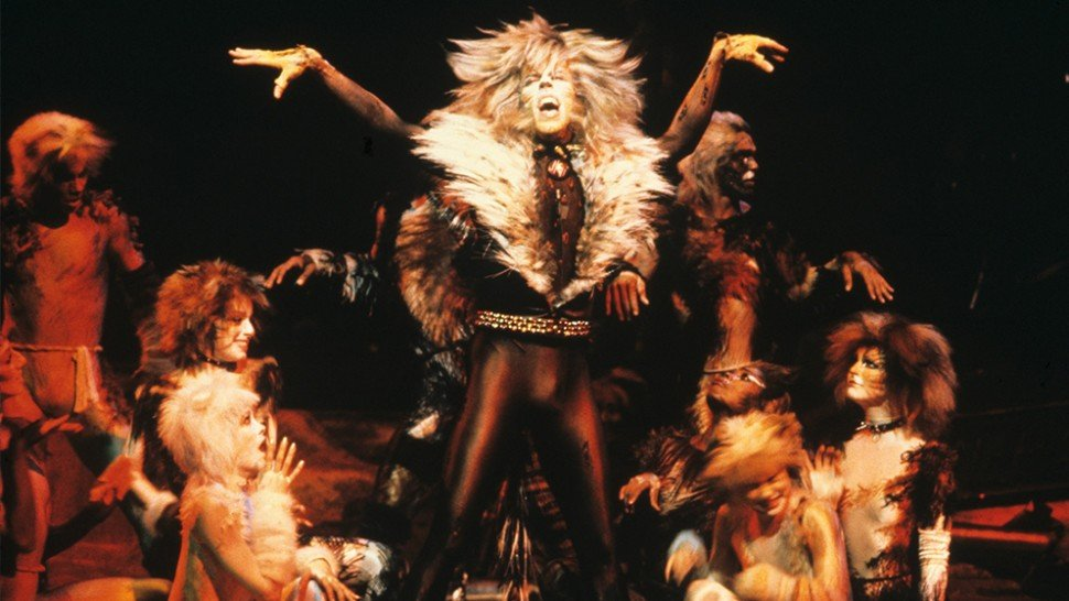 Never forget that Broadways original Rum Tum Tugger was always Broadways original Javert. (Im not sure if this is a get you a man who can do both meme or if you dont love me at my — you cant love me at my — meme.)