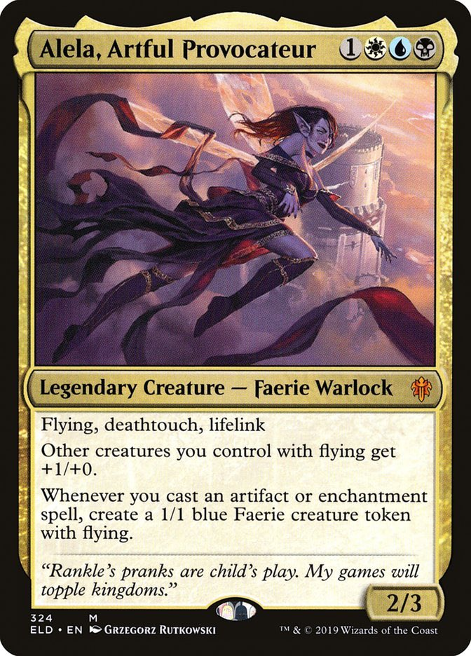 test Twitter Media - Tinkering with a #CMDR idea. Thoughts on Alela vehicles deck?   #EDH #MTG https://t.co/b5x7fvynGS