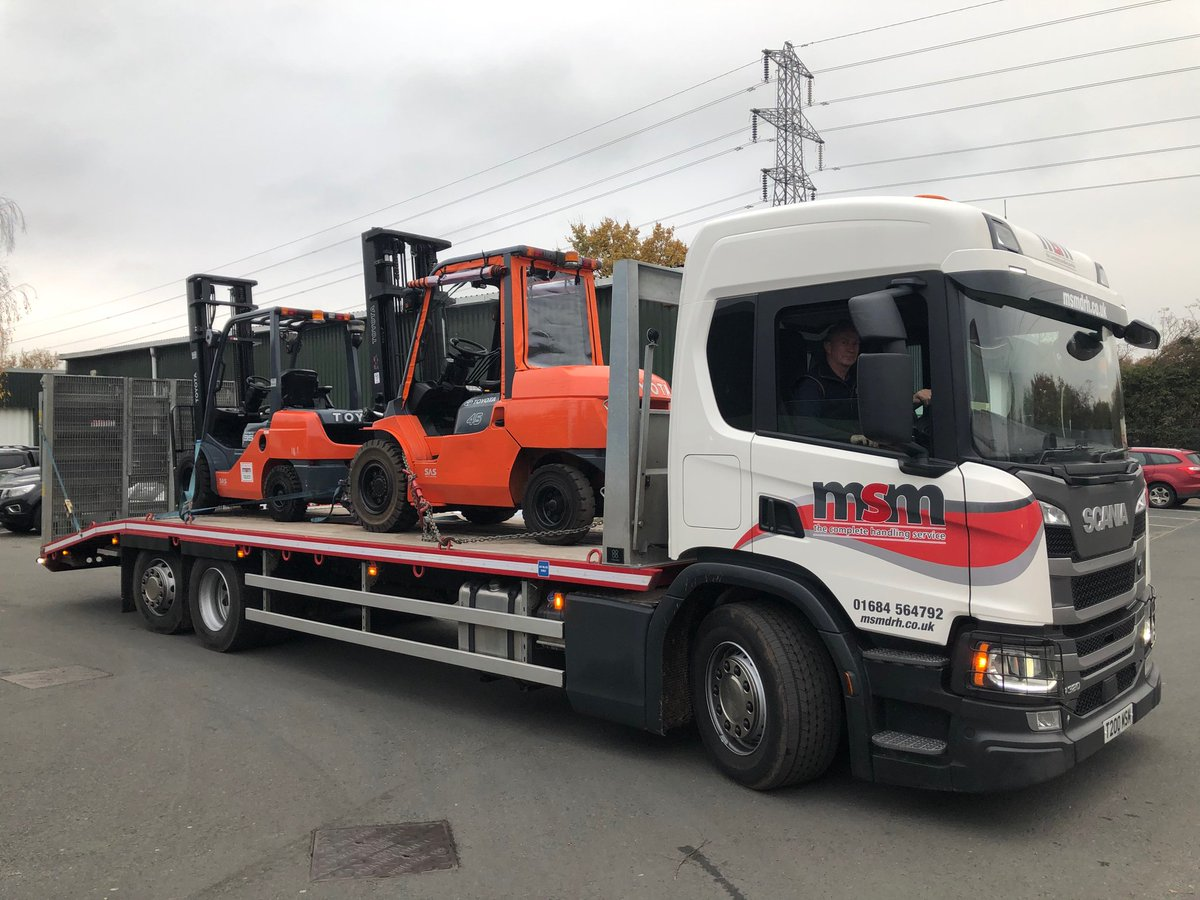 Quality all the way Scania Lorry Toyota Forklifts Happy driver Happy Customer's @msm_drh