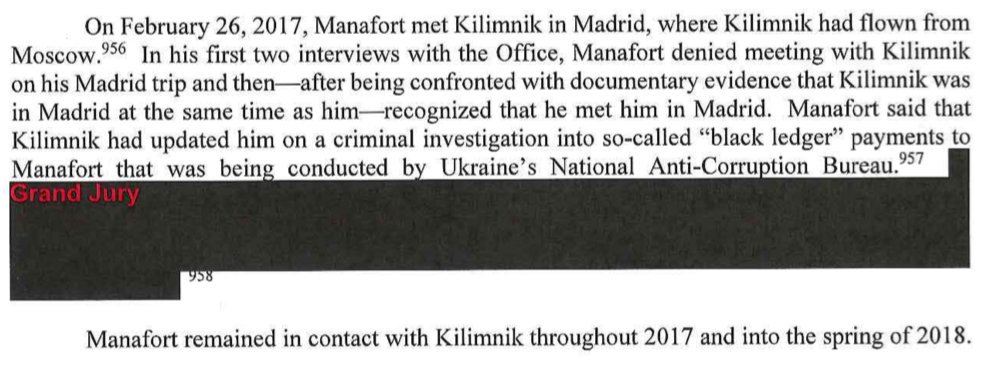 """This is the only reference to the """"black ledger"""" in the Mueller Report (Vol. I, p. 143)."""