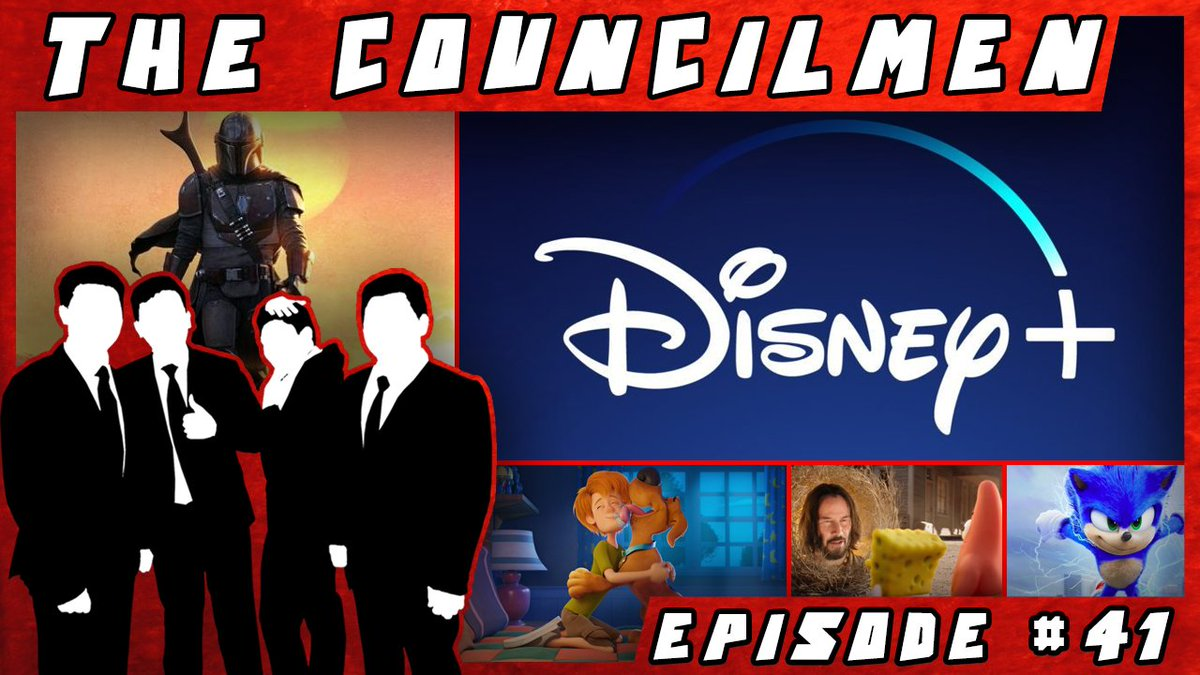 We talk about #Disney+, some new releases, the #Sonic new trailer, #Spongebob trailer, #Scoob! and to top it all off, a bunch on nonsense! Join us on this week's showApple 🍎: https://apple.co/37tRXDqSpotify 🎧: https://spoti.fi/34dpnEsStitcher 🖥: https://bit.ly/2s7UlQj