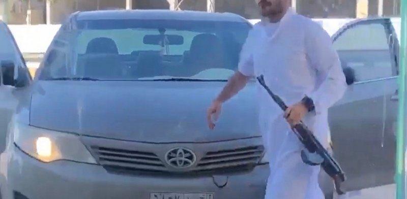 """شرطة #حفر_الباطن تطيح بـ""""عشريني"""" أطلق النار وسط معهد تعليمي.http://sabq.org/zjtXyV"""