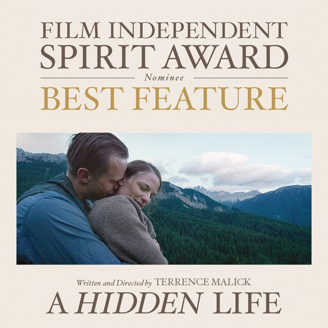 @AHiddenLifeFilm's photo on #SpiritAwards