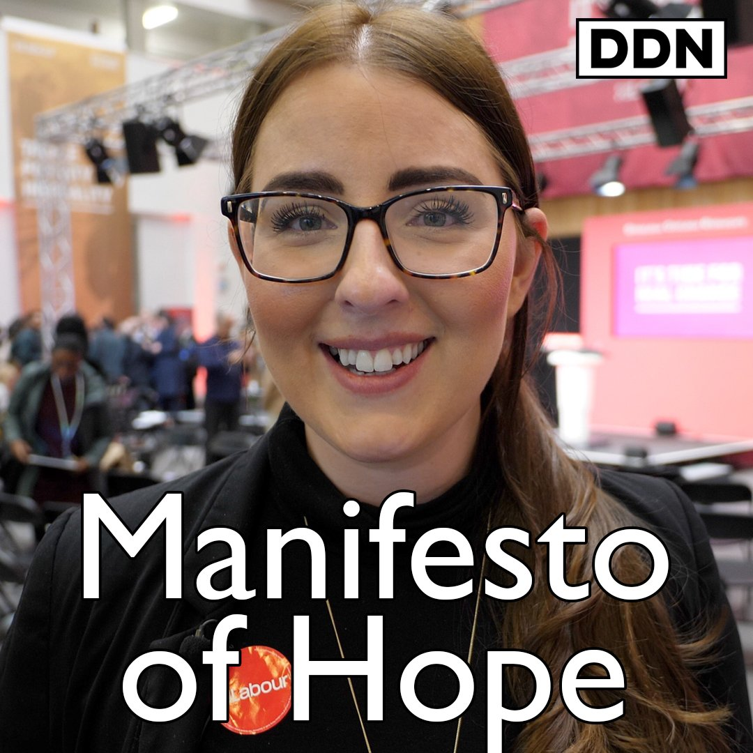 Theres so much hope in this manifesto, thats why were being attacked @LauraPidcockMP on Labours Manifesto of Hope