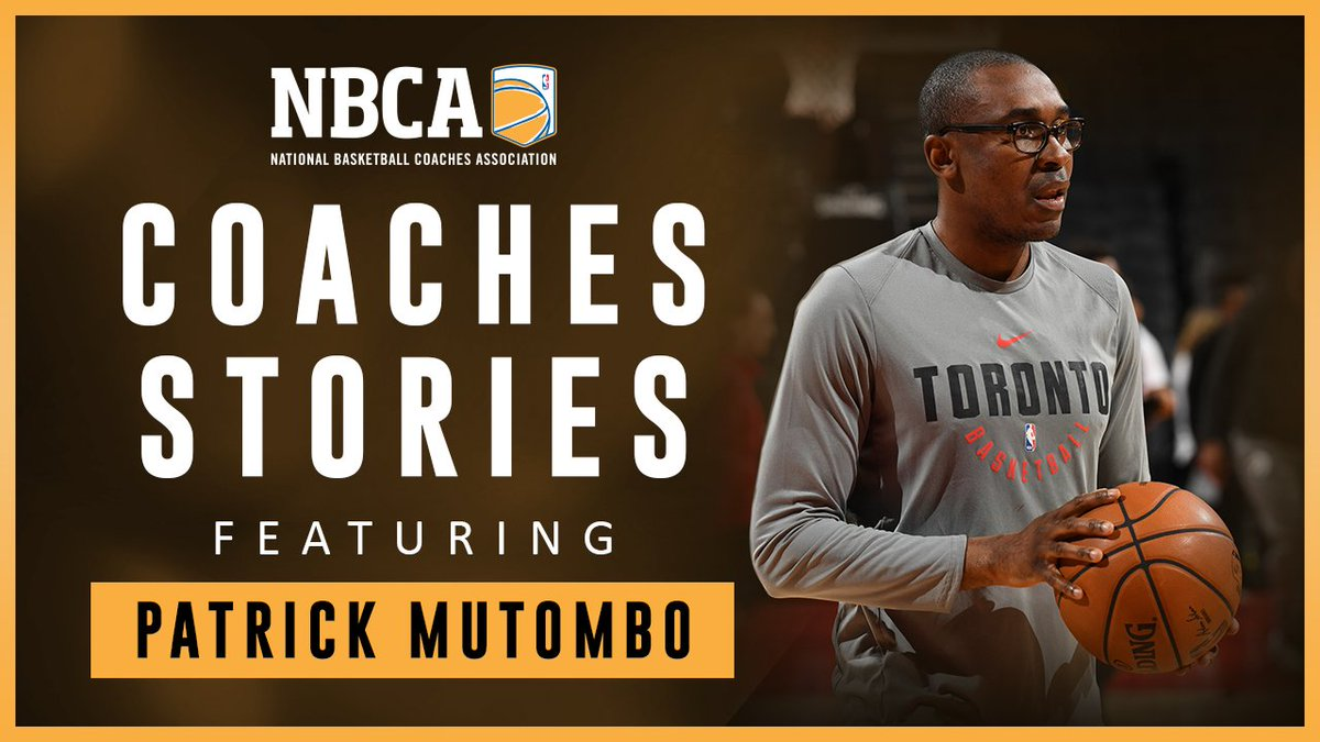 Defending @NBA Champion and @Raptors Assistant Coach Patrick Mutombo shares his journey, love of painting and how the connections he develops with his players not only allow him to impact their lives, but also helps him become a better leader. #CoachesStories