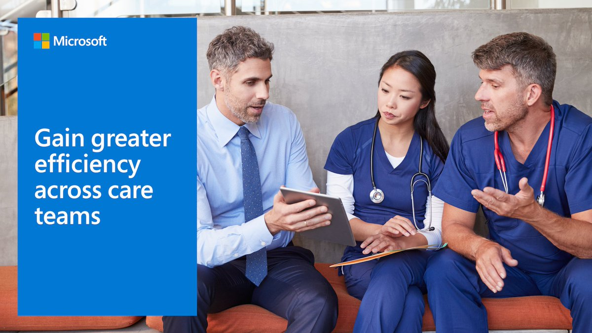 Discover how #Microsoft healthcare solutions help keep your communications in one place for secure messaging, video, voice, photo annotation, and screen sharing: http://msft.it/6019TpO1L