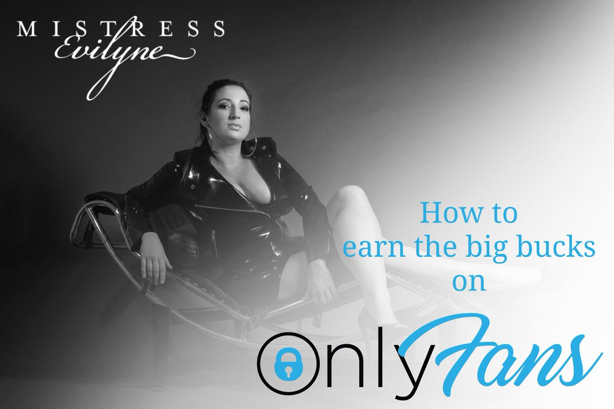 Want to know how to earn 💲💲💲 on OnlyFans? Im here to help. Click here: mistress-evilyne.com/lets-start-ear…
