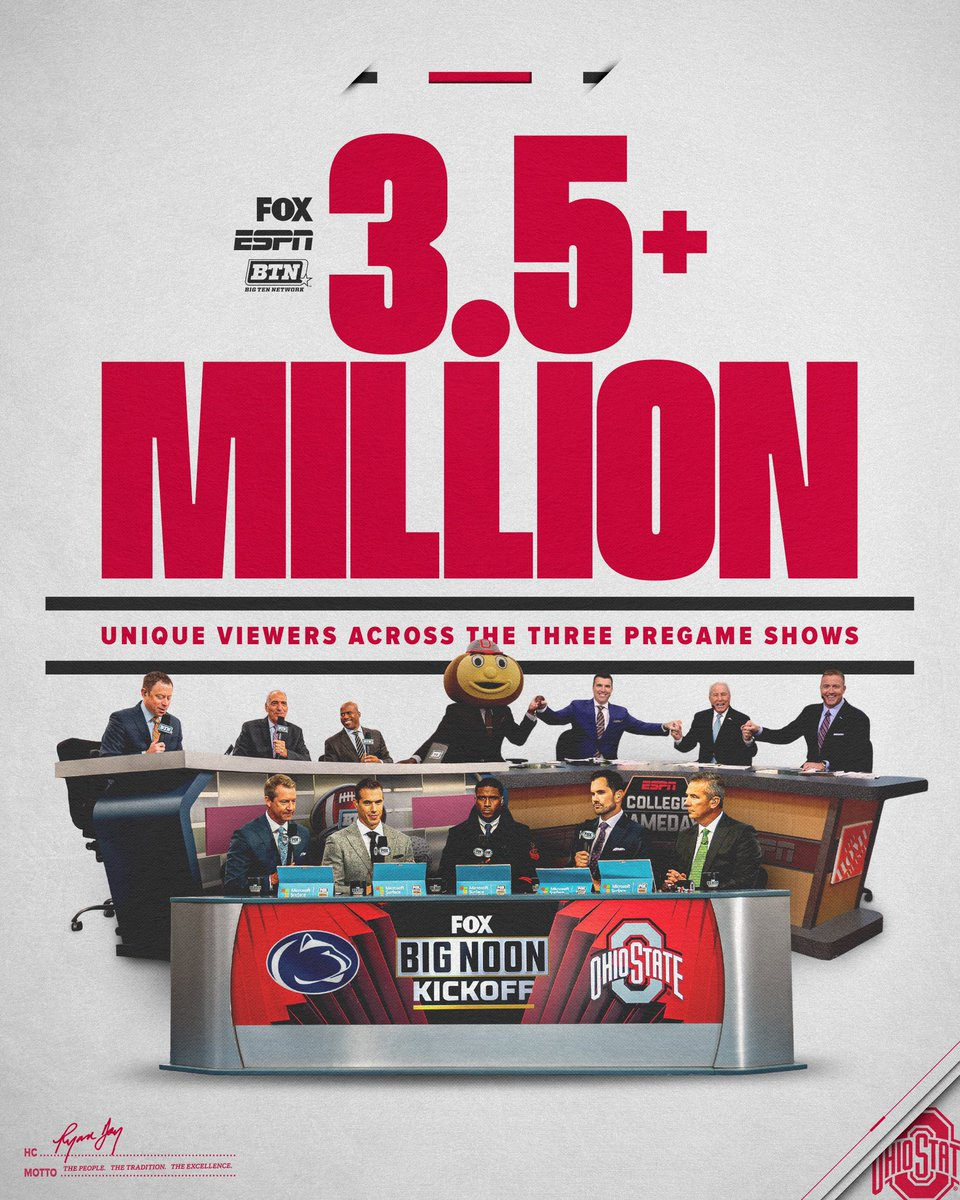 Michigan Fans Won't Be Happy With This Graphic From Ohio State