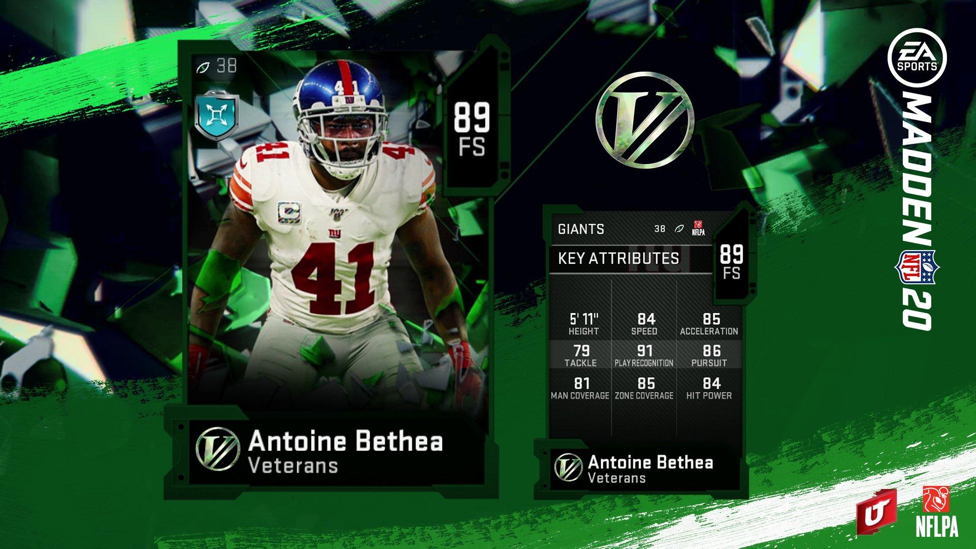 Antoine Bethea Hit