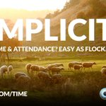 Image for the Tweet beginning: Finding Time and Attendance tricky