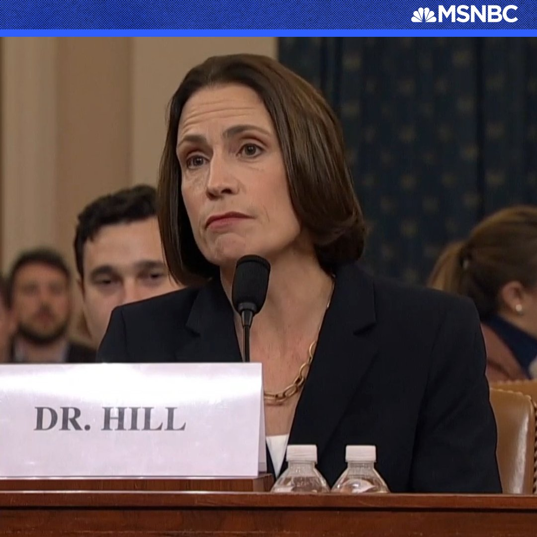 @MSNBC's photo on Dr. Fiona Hill
