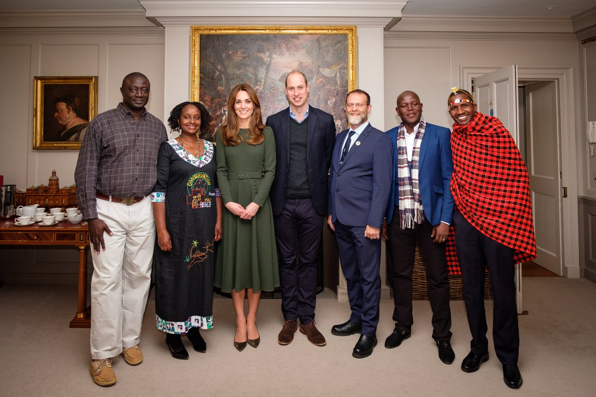 Earlier today, Catherine and I spent some time with the #TuskAwards nominees and finalists. Their bravery, single-minded determination, and commitment to African conservation is deeply deeply humbling. — The Duke of Cambridge @Tusk_org #ForAllTheyDo