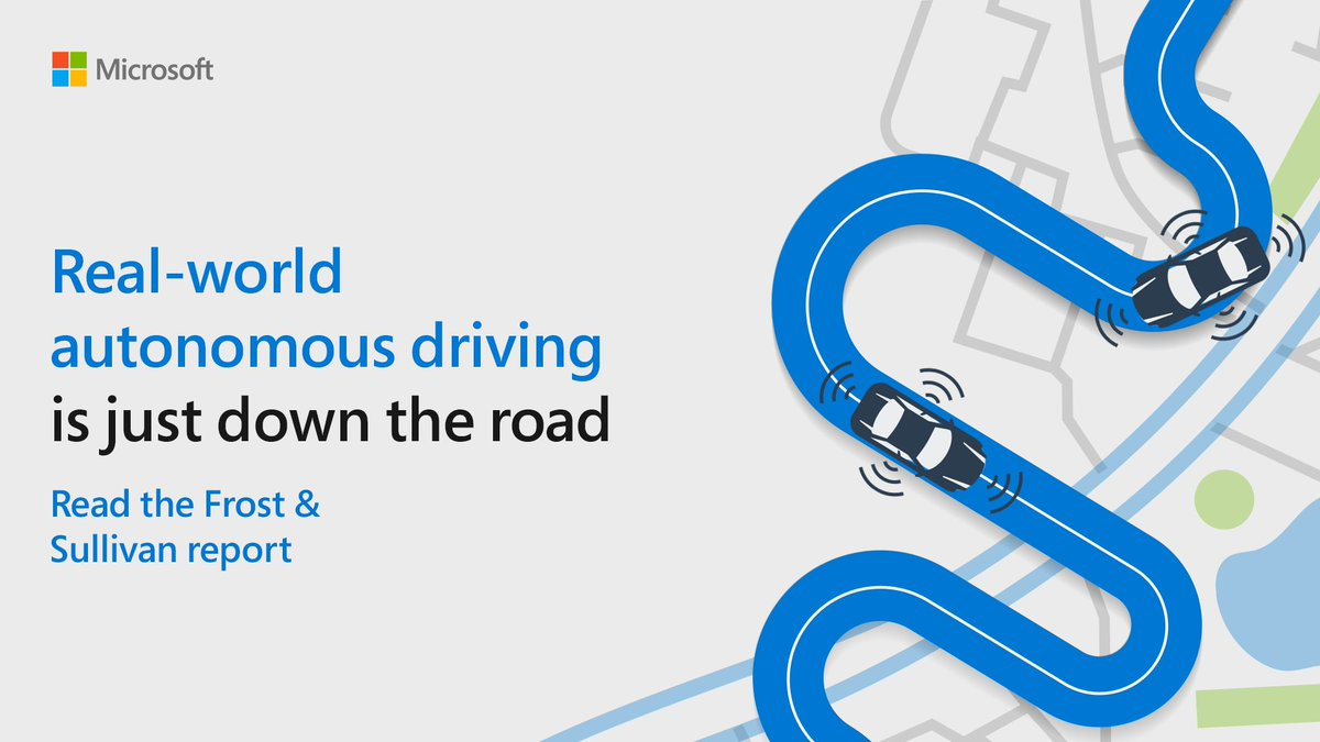 Discover how a thriving autonomous driving market is set to reveal new monetization opportunities across industries.  Read more via @Frost_Sullivan: http://msft.social/2zufKe