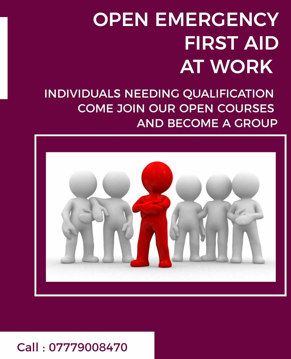 Next Open Emergency First Aid at Work 1st December  #choicemedics #firstaid #firstaidtraining #firstaidatwork #emergencyfirstaidatwork #eastbourne #wealden #uckfield #sussex #eastsussex #heathfield #brighton #worthing #hastings #paramedics #experts #training