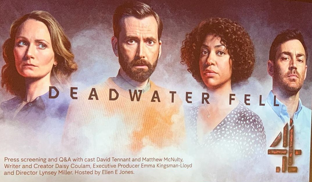 Press screening of Deadwater Fell in London - Thursday 21st November 2019