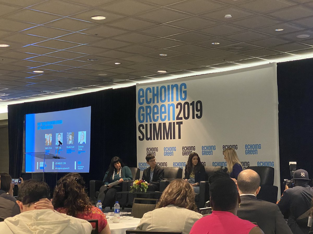 On the frontlines of the SDGs - @echoinggreen Summit #EGSummit19