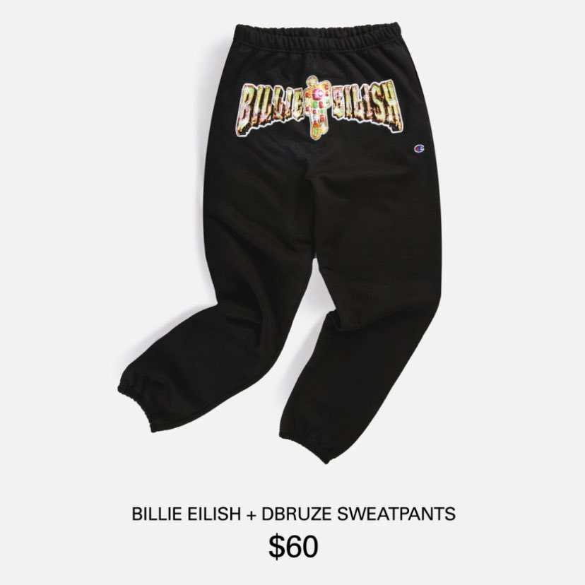 Billie Eilish Updates در توییتر Pieces From The Billie Eilish X Dbruze Merch Collection Available For Purchase Exclusively At Ntwrklive App Or Site Monday December 2nd At 6pm Pt 9pm Et Https T Co 3vymb07nhm